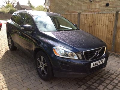 Volvo XC60 2.4 D5 [215] SE Lux 5dr AWD Geartronic Estate Diesel BlueVolvo XC60 2.4 D5 [215] SE Lux 5dr AWD Geartronic Estate Diesel Blue at Favorit Motor Company Kings Lynn
