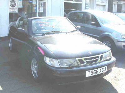 Saab 9-3 2.0 SE Convertible Convertible Petrol BlackSaab 9-3 2.0 SE Convertible Convertible Petrol Black at Favorit Motor Company Kings Lynn